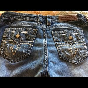 Rock Revival Easy Straight Jeans
